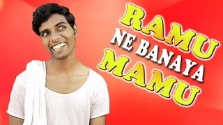getlinkyoutube.com-Ramu Ne Banaya Mamu | Comedy Video by Pakau TV channel