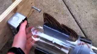 getlinkyoutube.com-DIY Pop Bottle Water-Rocket Launcher