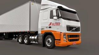 getlinkyoutube.com-Volvo Fh Euro 5 l Euro Truck Simulator 2 l 1.21
