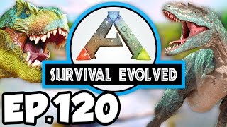 ARK: Survival Evolved Ep.120 - DRAGON KNOCKOUT, KILL, & TAME ATTEMPT!!! (Modded Dinosaurs Gameplay)