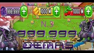 getlinkyoutube.com-Dragon City - Truco Tener 999,999,999 Gemas Comida Y Oro - 2016