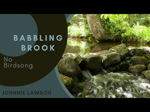 8 hours of Water Sounds for Relaxation and Meditation-Relaxing Waterfall-W/O Birdsong