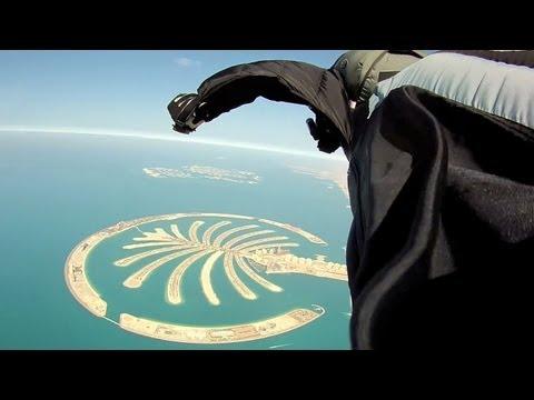 Epic Wingsuit Skydive   Dubai