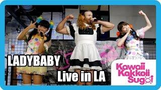 """getlinkyoutube.com-LADYBABY - """"Nippon Manju"""" Live in Los Angeles! (2015.10.13)"""