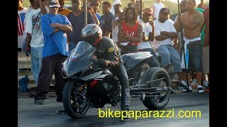 "getlinkyoutube.com-Pt.2 ""SLICK"" upsets GAS MONKEY @  Motorcycle STREET TIRE SHOOT-OUT in BATTLE on Da Mountain"
