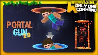 getlinkyoutube.com-Minecraft - Portal Gun 2.0 in one command (1.9 command)