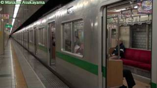 getlinkyoutube.com-東京メトロ千代田線 二重橋前駅にて
