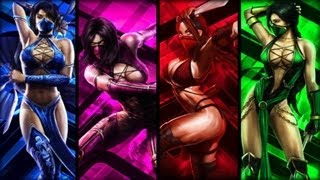 getlinkyoutube.com-Mortal Kombat: Mileena-Kitana-Jade-Skarlet Tribute