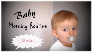 getlinkyoutube.com-85# 👶🏼 Baby Morning Routine 🍼 Ethan 13 mois !