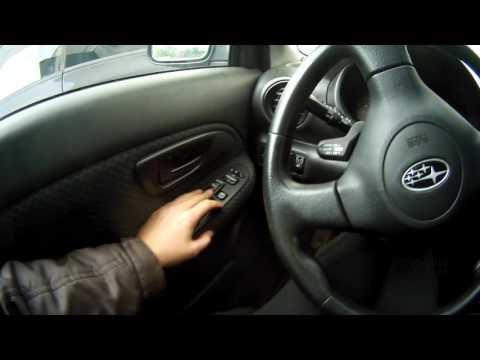 Как прописать ключ Subaru