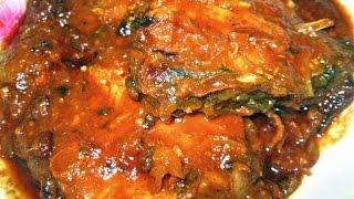 getlinkyoutube.com-Fish Kalia (Macher Kalia/Bengali Fish recipe)