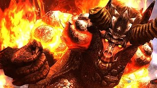 【MHF-G】獄炎の始種、『ヴォージャン』初討伐!【紅蓮獅子】【原始の火山を知る者】 WQHD