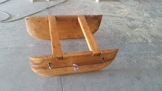 getlinkyoutube.com-pesca: costruzione e pesca barchino divergente, tutorial