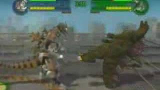 getlinkyoutube.com-Mechagodzilla 3 Versus Godzilla 2000
