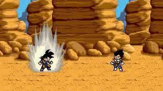 getlinkyoutube.com-Dragon Ball : Ultimate ShowDown - Goku vs Vegeta - Free PC Game - RPG MAKER 2003