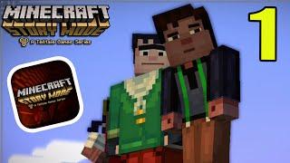 "getlinkyoutube.com-Minecraft Story Mode (iPhone/iOS/Android) Walkthrough Part 1: ""Building Contest"" Gameplay"
