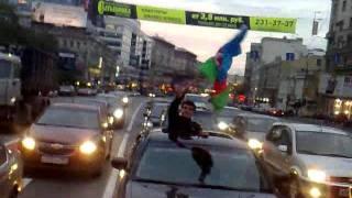 getlinkyoutube.com-АЗЕРБАЙДЖАНЦЫ В МОСКВЕ ПРАЗДНУЕТ ПОБЕДУ НА ЕВРОВИДЕНИЕ 2011 ЧАСТЬ 2 ! AZERI MASKIVADA EUROVISION BAYRAMI