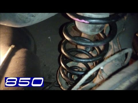 Расположение сайлентблоков задней балки у Volvo S80