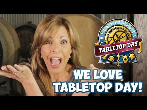 Jesse Cox, Anne Wheaton, Michele Boyd, and More Love TableTop Day!