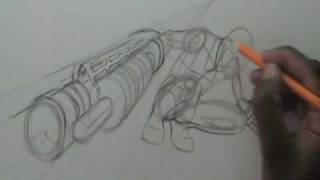 getlinkyoutube.com-How to draw Death the Kid from Soul Eater