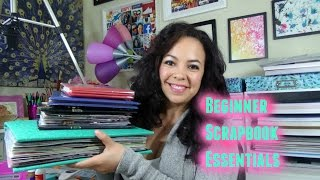 getlinkyoutube.com-Beginner Scrapbooking- Basic Tools & Supplies