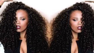 getlinkyoutube.com-MY FABULOUSSS CROCHET BRAIDS ft. OUTRE BAHAMAS CURL