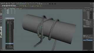 getlinkyoutube.com-Maya Tutorial: Creation Wires, Rope