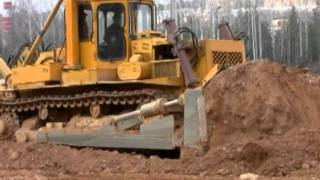 getlinkyoutube.com-DET Bulldozers of ChTZ-Uraltrac, Russia