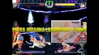 jugando hentai de the king of fighters y otros