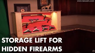 Home Gun Concealment System For Hidden Firearms