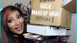 getlinkyoutube.com-HUGE MAKEUP HAUL PROFUSION PALETTES + CARLI BYBEL EYESHADOW PALETTE + JEFFERE STAR Androgyny