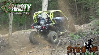 getlinkyoutube.com-STOCK 1000 XDS TURBOCHARGED CANAM FIRST UP STR8 UP SXS DIRT NASTY BOUNTY HILL
