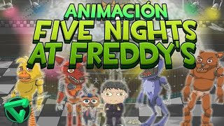 "getlinkyoutube.com-FIVE NIGHTS AT FREDDY'S ANIMACIÓN - ""iTownGamePlay Animado"" (FNAF Animation)"