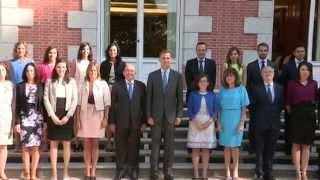 S.M. el Rey recibe a la XVI Promoción del Cuerpo Superior de Interventores y Auditores del Estado