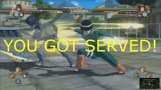 getlinkyoutube.com-Naruto Shippuden Ultimate Ninja Storm 4 Leader Change Cancel YOU SCARY!