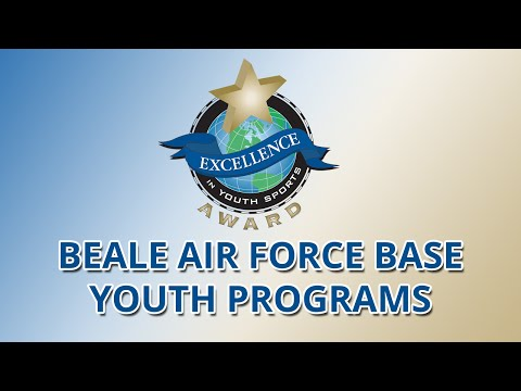 Beale Air Force Base Youth Programs (Ca.) wins Excllence in Youth Sports Award (2015)