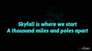 Adele - Skyfall (Lyrics Full)