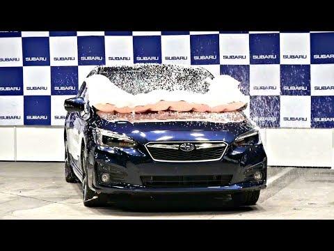 Subaru XV – первый японский кроссовер с подушкой безопасности для пешеходов (новости)