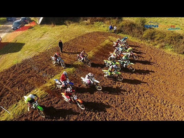 moto cross race in Oropos - Preveza - Greece drone flight