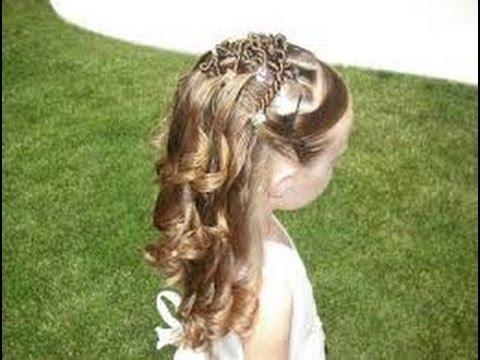 Como hacer peinados de fiesta para niñas ideas faciles y divertidas