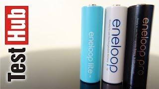 getlinkyoutube.com-Jakie akumulatory AA / AAA kupić ? Które akumulatorki najlepsze ? Panasonic Eneloop dawniej Sanyo