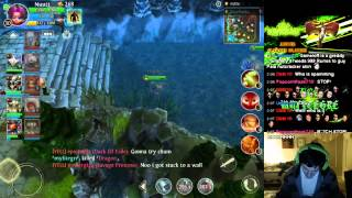 getlinkyoutube.com-Heroes of Order and Chaos ~ New Nuutt Skin Gameplay Video - Solstice Elf