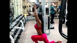 getlinkyoutube.com-Legs and Buttocks Exercises by Yarishna Nicole