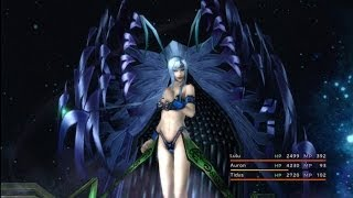 Final Fantasy X HD Remaster - Lady Yunalesca Boss Battle