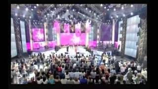getlinkyoutube.com-My heart will go on c.dion 2007 ( en trio avec Laam et Amel Bent ) + interwiew + clip TV