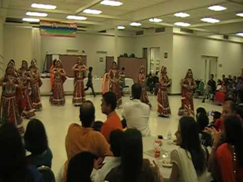 GROUP DANCE PERFORMANCE ON MEDLEY OF RAJASTHANI SONGS.