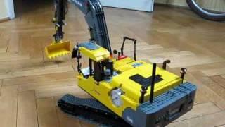getlinkyoutube.com-Lego Volvo EC290C Tracked Excavator