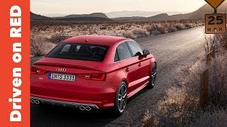 getlinkyoutube.com-Audi A3 Sedan (2014) Review - Driven on RED