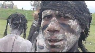 getlinkyoutube.com-Human Cannibalism and Head Hunting in Papua New Guinea