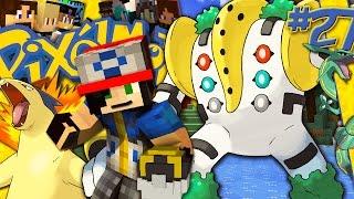 getlinkyoutube.com-REGIGIGAS IL CAPO DEI GOLEM LEGGENDARI - Minecraft ITA - PIXELMON #27